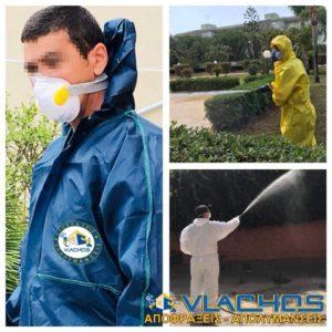 Εφαρμογές απεντόμωσης από τεχνικούς της Αποφράξεις Απολυμάνσεις Βλάχος στην Αθήνα