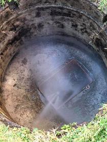 Καθαρισμος φρεατιου στο Ιλιον