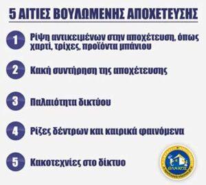 ΑΠΟΦΡΑΞΕΙΣ ΓΛΥΦΑΔΑ - ΑΙΤΙΕΣ